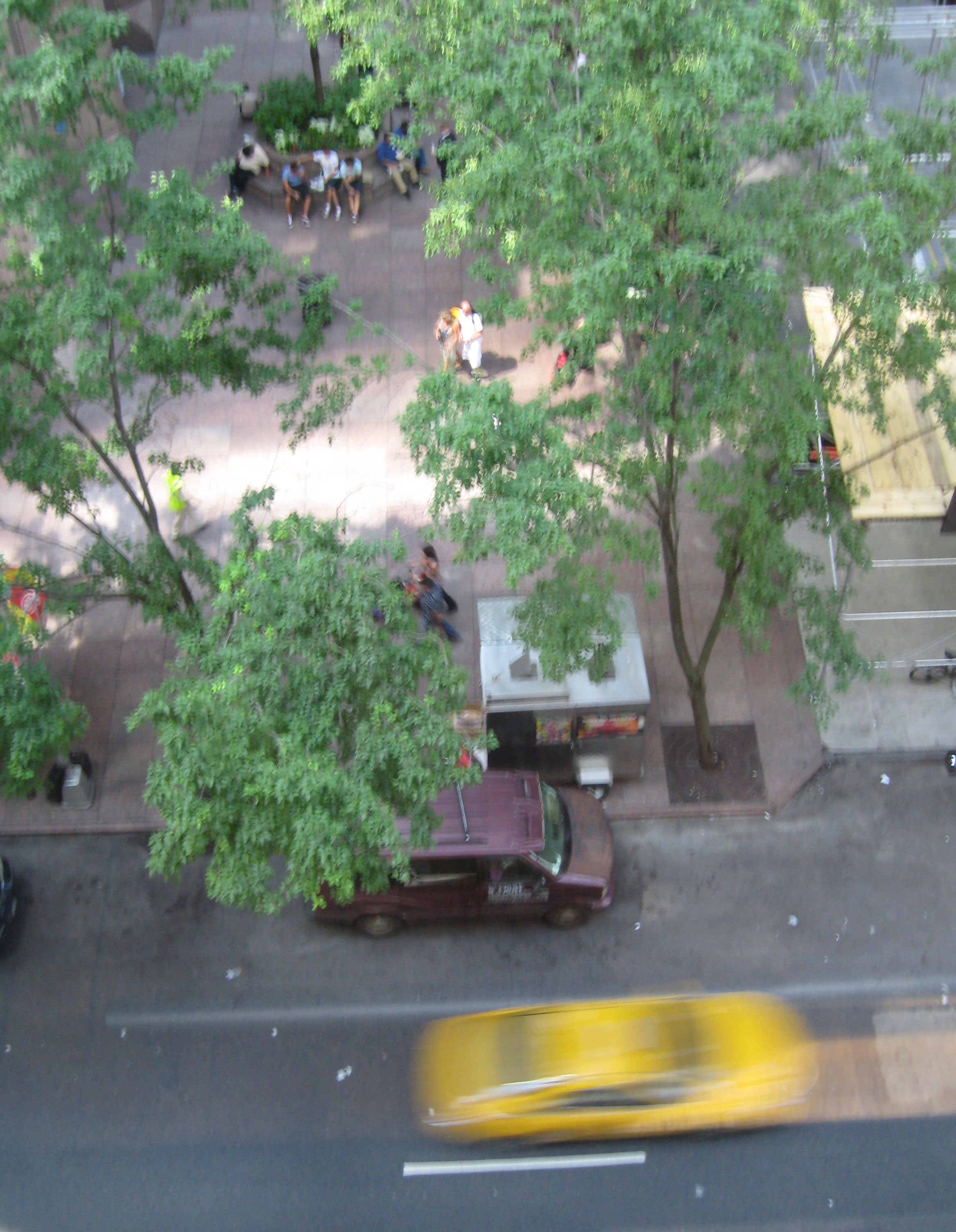 From the window of MOMA. Photo by me