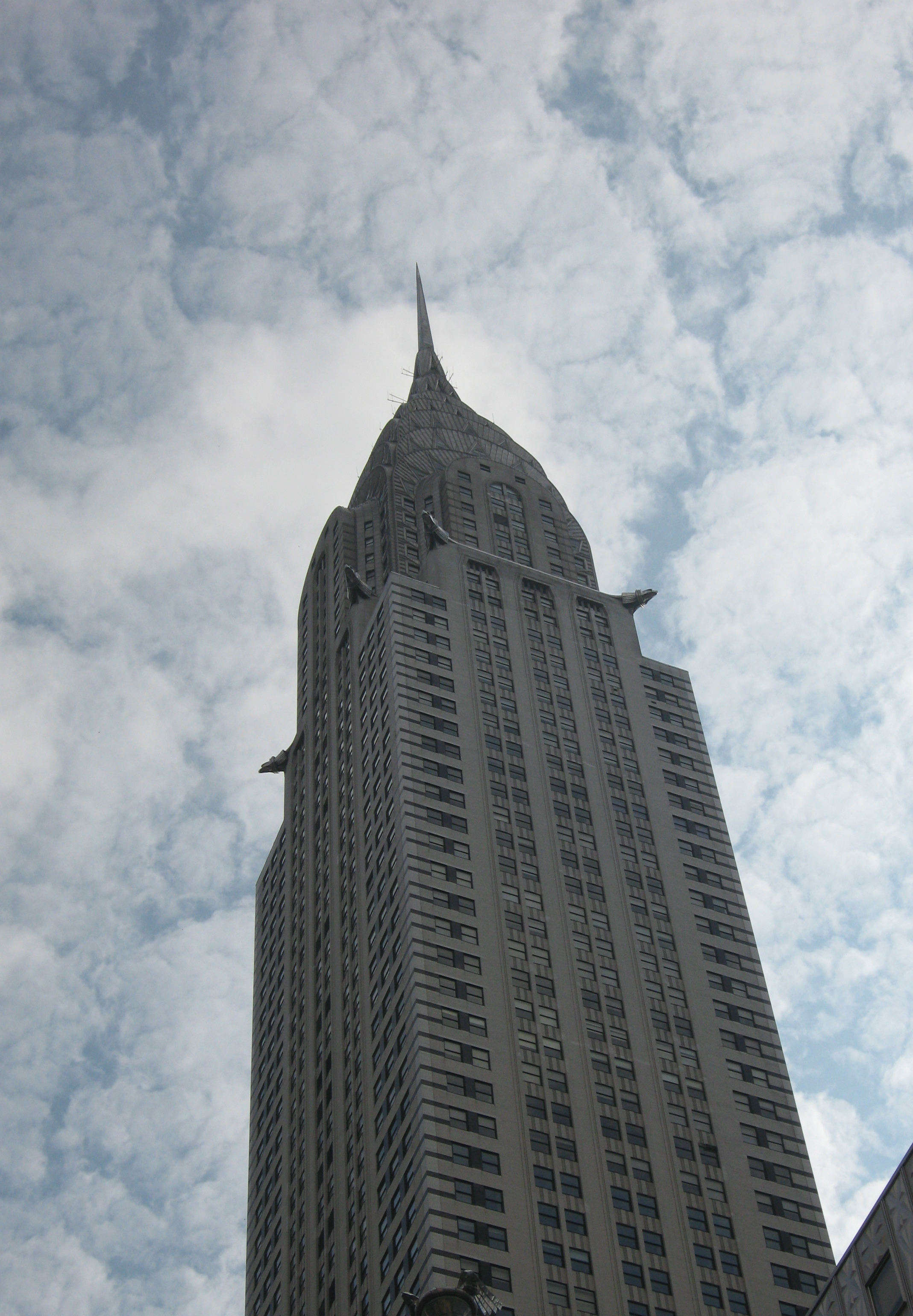 The Chrysler Building, NYC.  Is this home? Photo by me.