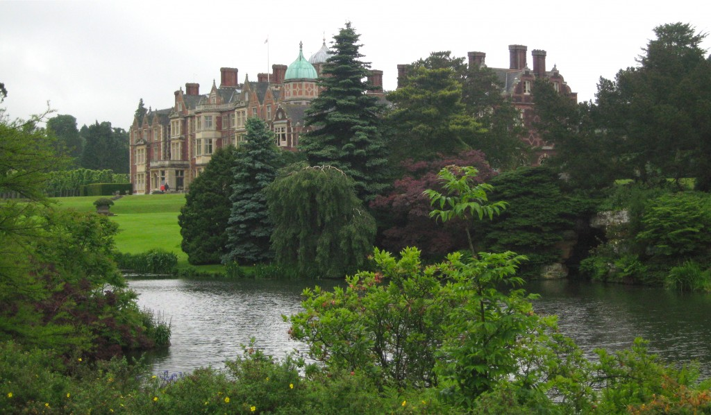 Sandringham, the Queen's estate in Norfolk, England. Photo by me.
