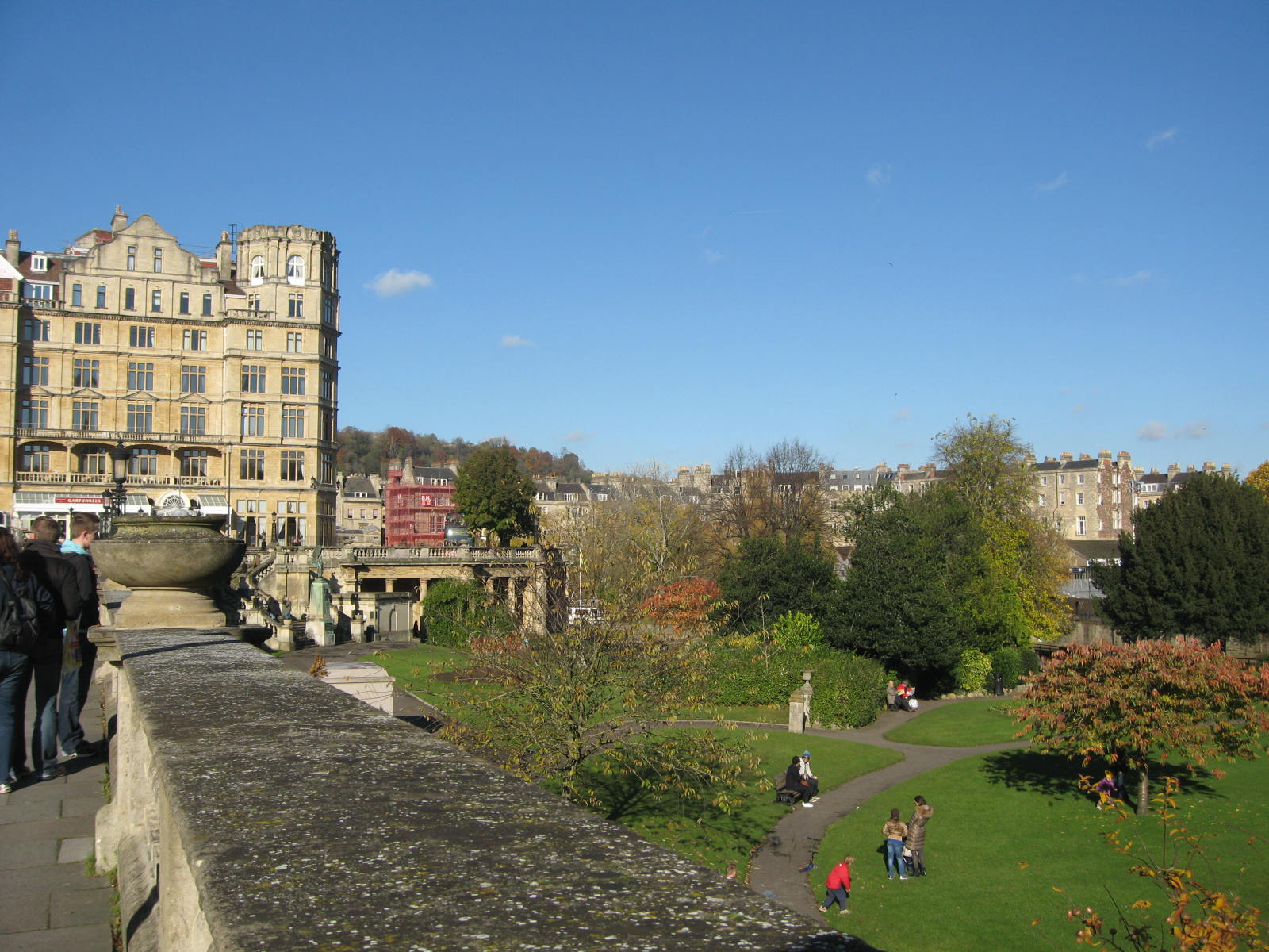 The beautiful city of Bath. Photo by me.