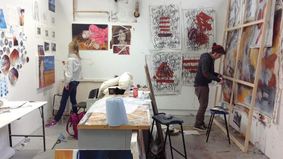 "From Bath School of Art and Design website, ""Inside the Studio"""