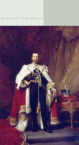 King George V by Sir Samuel Luke Fildes (1843-1927), The Royal Collection © 2006, Her Majesty Queen Elizabeth II