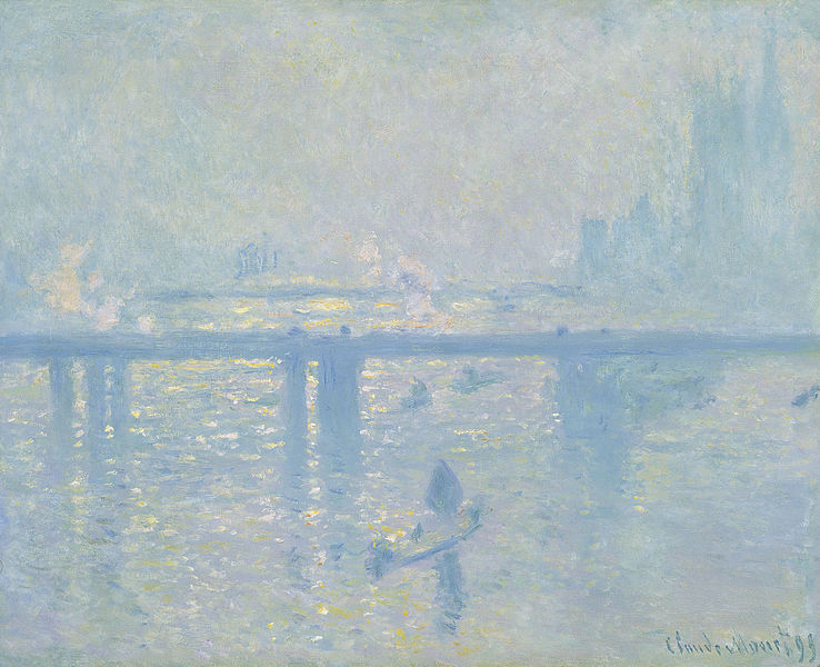Charing cross Bridge, Claude Monet