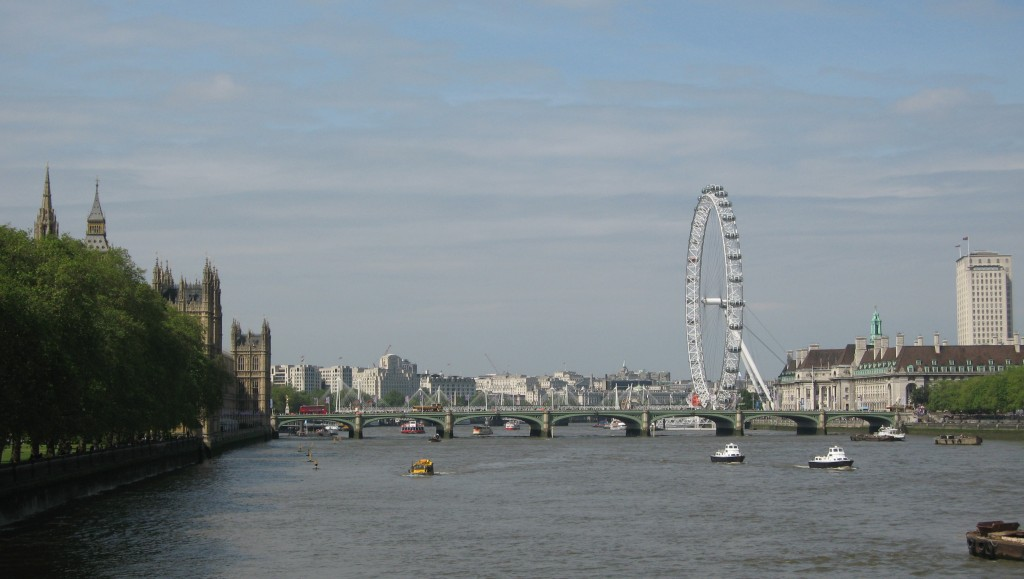 Westminster Bridge. Photo by me.