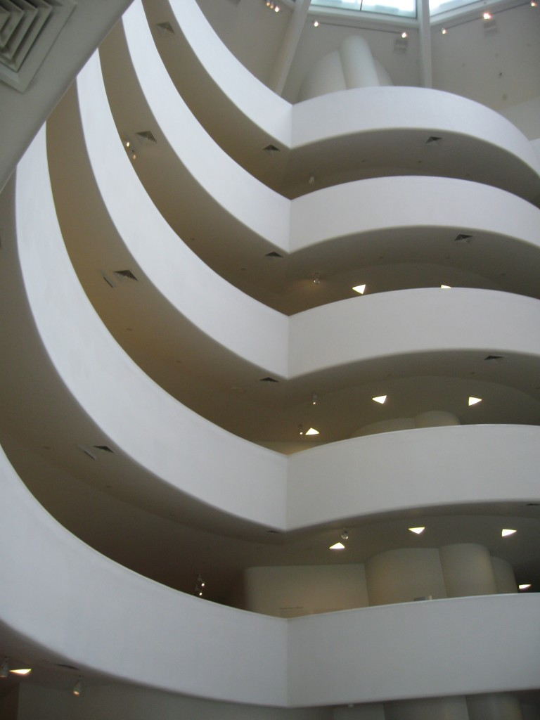 The Guggenheim Museum, NYC.  Photo by me