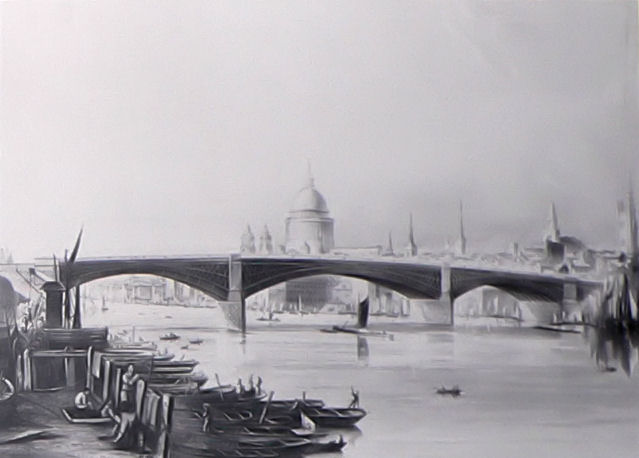 Southwark Iron Bridge. Wikimedia Commons.
