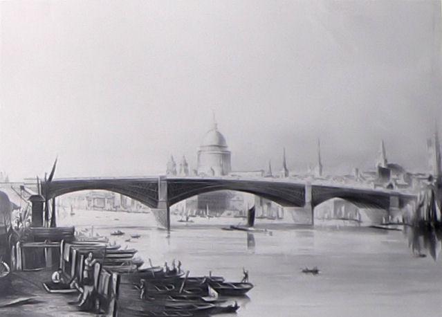 Southwark Iron Bridge. Wikimedia Commons.