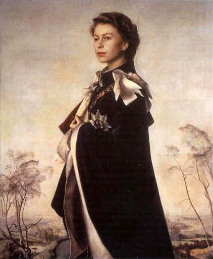HM Queen Elizabeth II by Pietro Annigoni, 1955