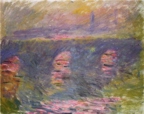 Waterloo Bridge, Claude Monet 1899