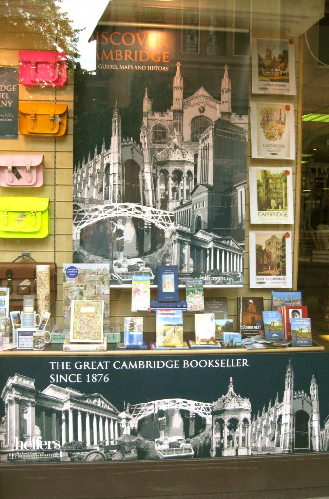 A book shop in Cambridge. Photo by me.