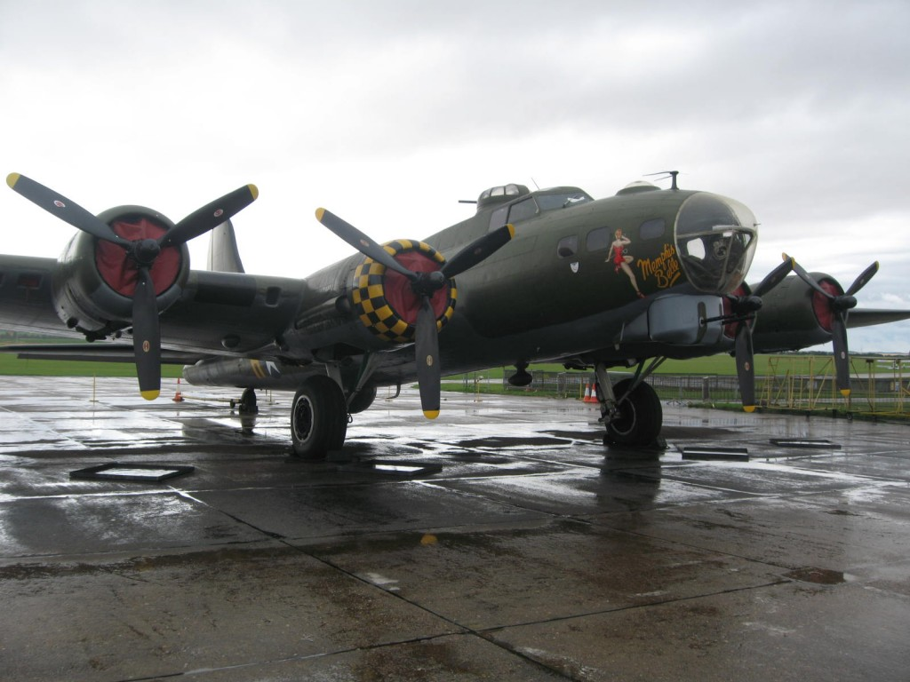 The famous Memphis Belle. Photo by me