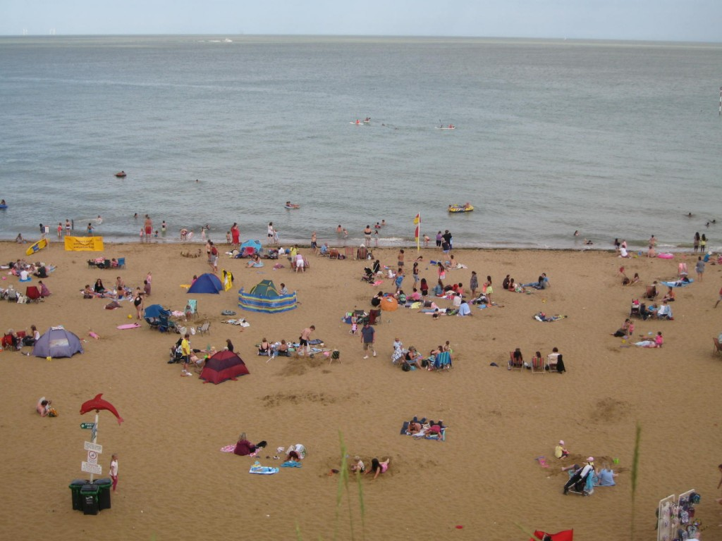 Broadstairs Beach. Photo by me.