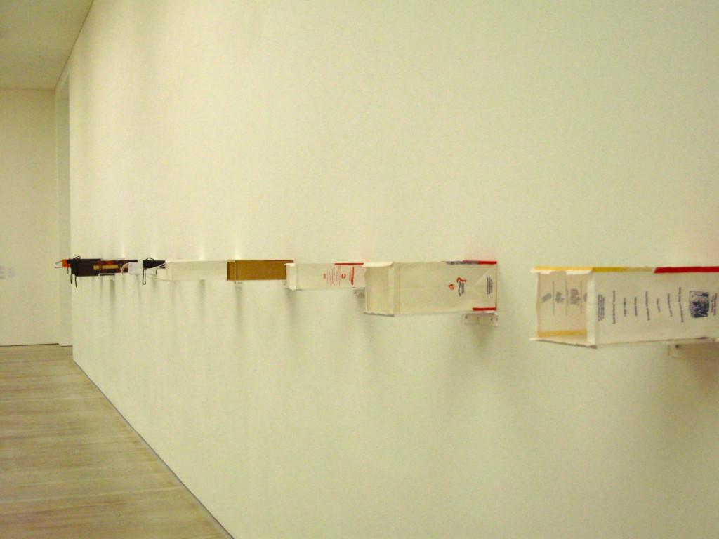 Yuken Teruya, all paper and glue. Photo by me