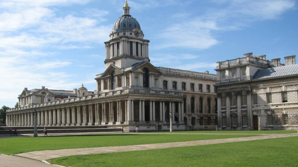 The Old Royal Naval College. Photo by me.