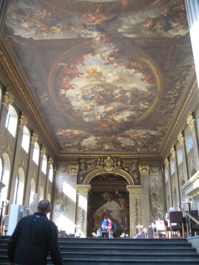 The Painted Hall. Photo by me.