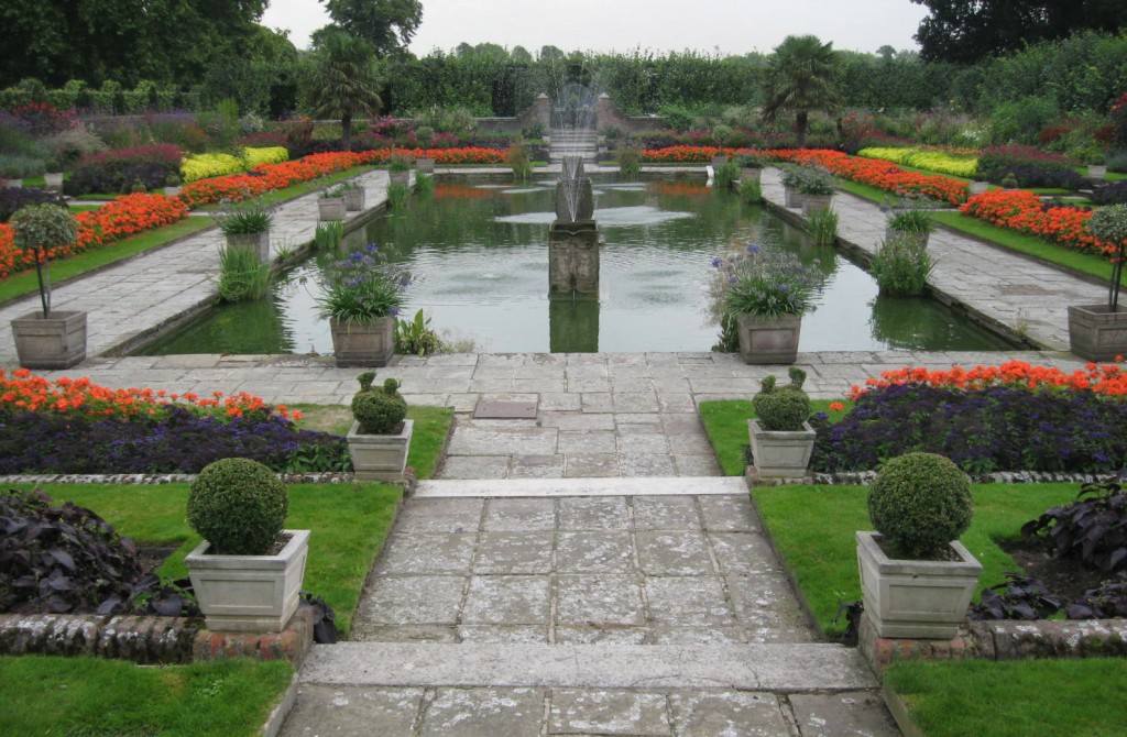 The Sunken Garden. Photo by me.