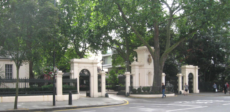 Kensington Palace Cafe London