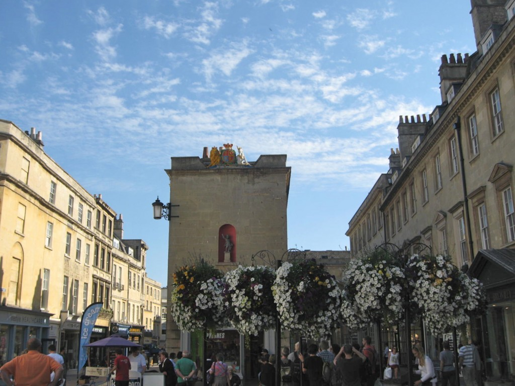 Bath on an early September day. Photo by me.