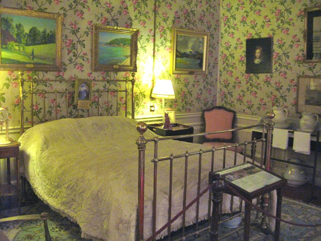 The room in Blenheim where Winston was born.