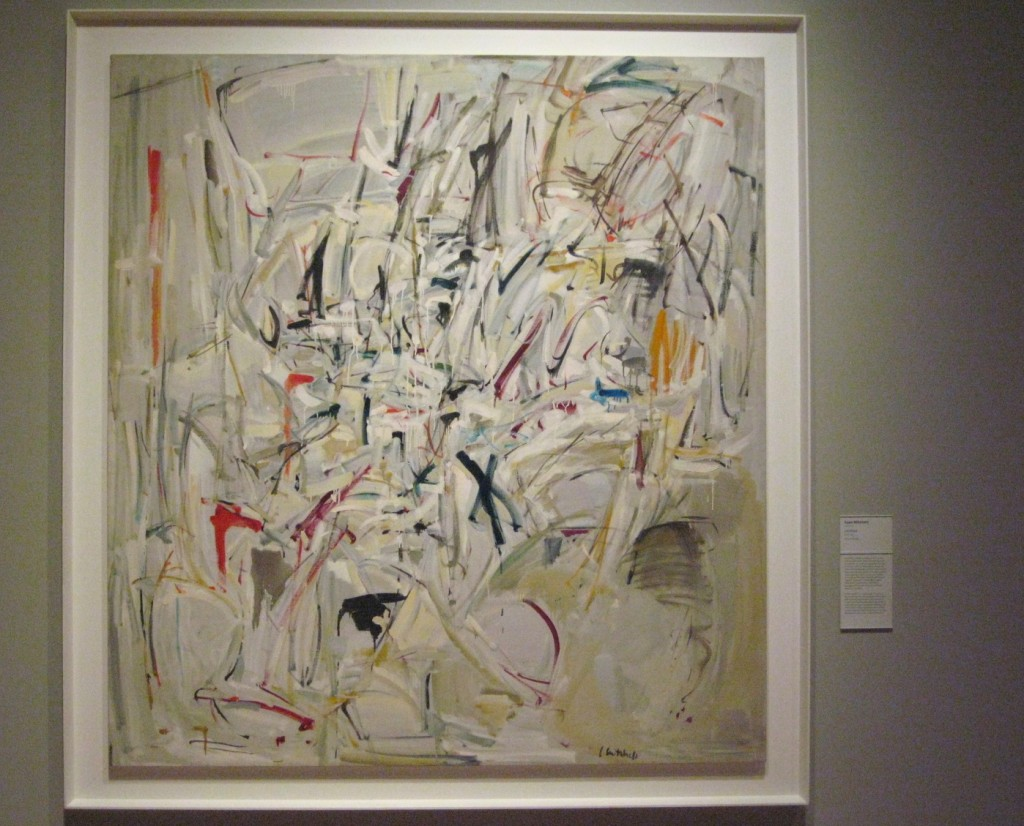 One of my heroes, Joan Mitchell