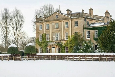Highgrove in the snow.