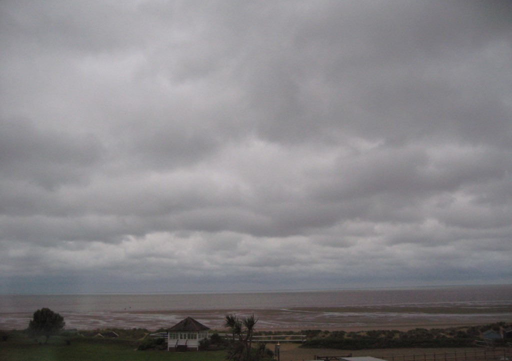 England is known for its grey skies.
