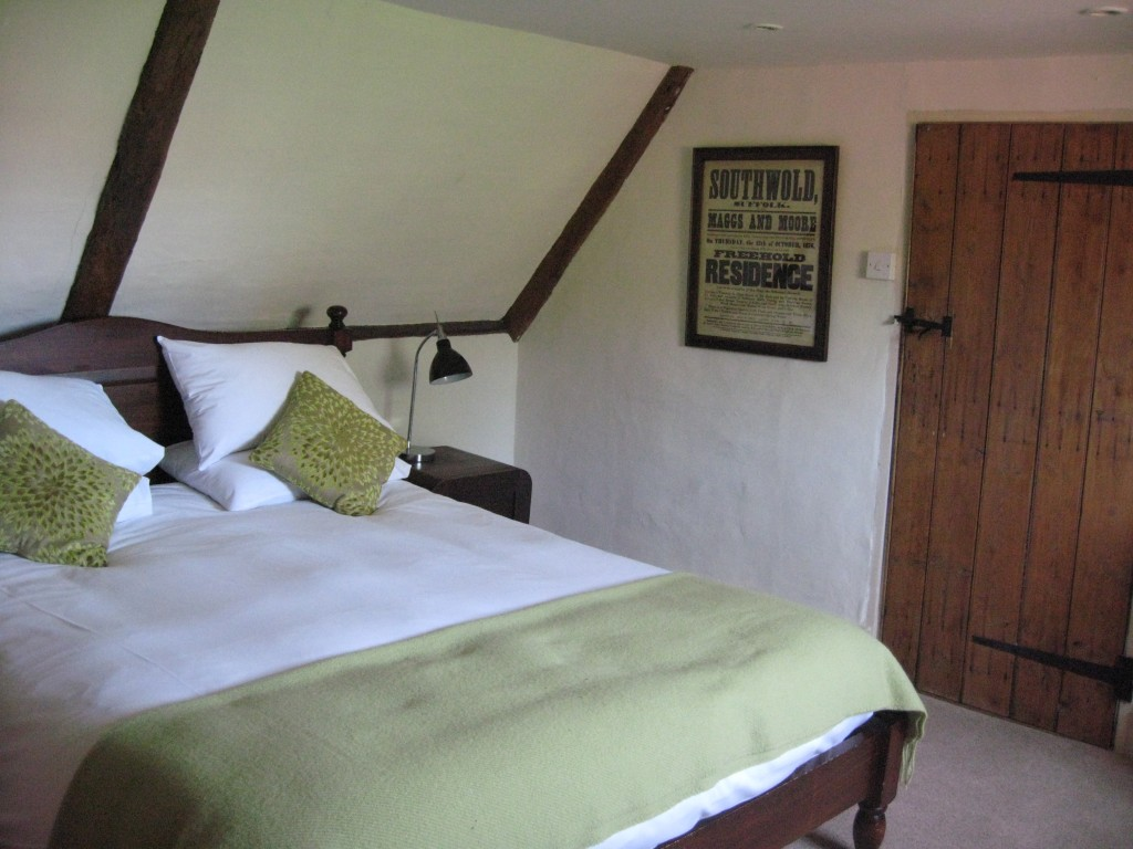 Our cozy attic room in Southwold