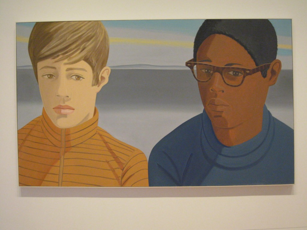 Alex Katz, Vincent and Tony